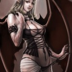 Castlevania Succubus by Unknown Artist