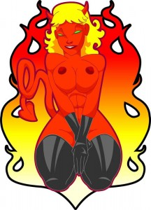 Devil Girl by Hardpawn