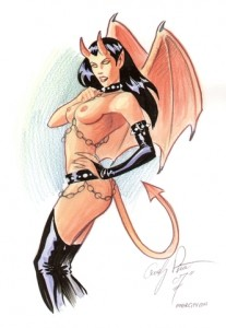 Devil Girl by Andy Price