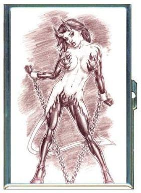 Devil Girl in Bondage by Penny Silver