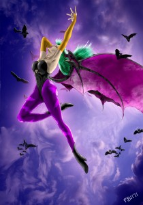 Morrigan Aensland by Foreverblue81