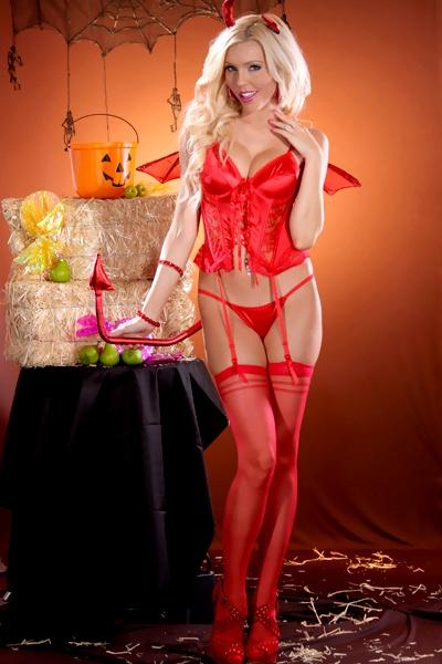 Devil Corset Costume