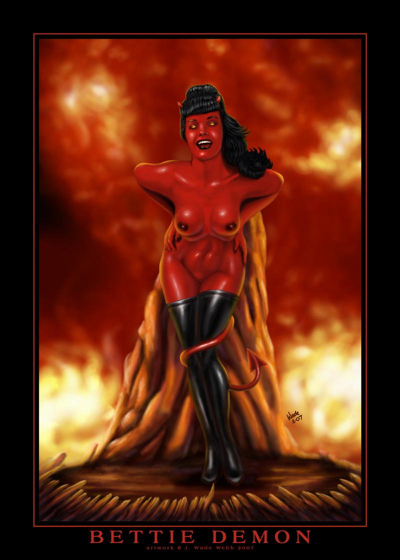 Bettie Demon by JWWebb