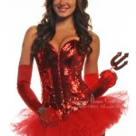 Sequin Devil Costume