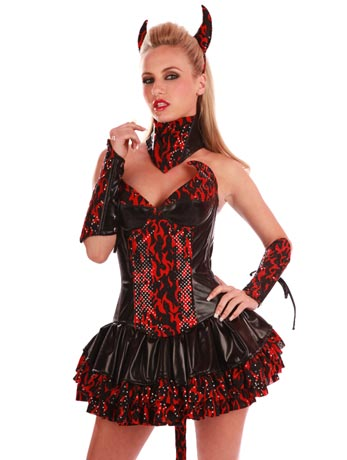 Fire Devil Costume