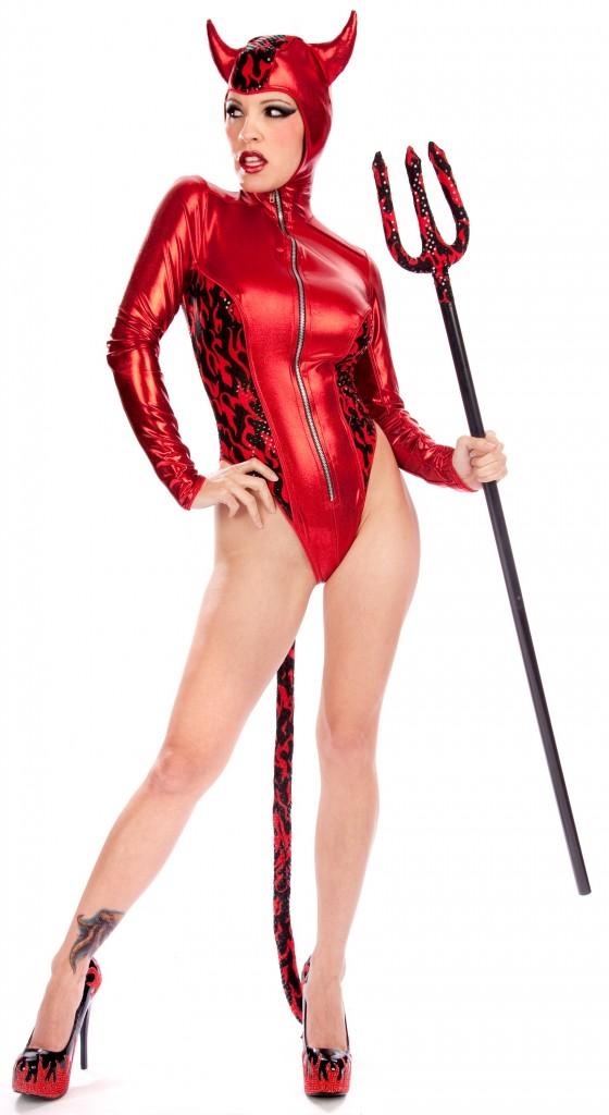 Toxic Fire Devil Costume