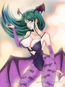 Morrigan Aensland by Slajoc
