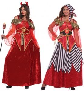 Reverseable Devil Pirate Costume