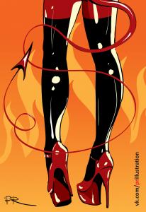 Burning Steps by Pryanyk