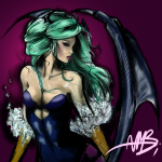 Morrigan by Bubblecat