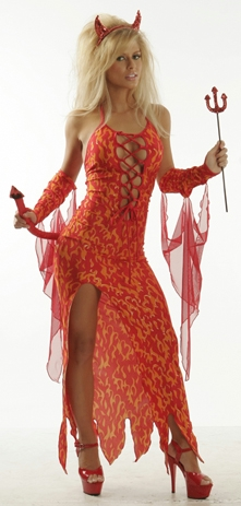 Bedazzled Costume