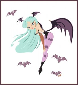 Morrigan Aensland Retro by GoblinQueeen
