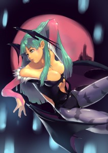 Morrigan Aensland by tororoto