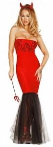 Sequin Devil Costume