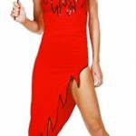 Devil Dress with Sequins