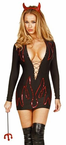 Devil Mini Dress