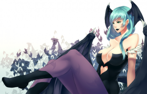 Morrigan Aensland by Ushio-MissingNo