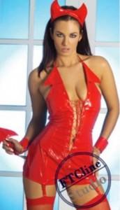 PVC Devil Woman