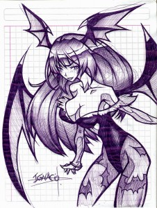 Morrigan Aensland by soyig