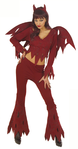 Rowdy Devil Woman Costume