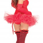 Devilish Delight Women Sexy Bodysuit Costume