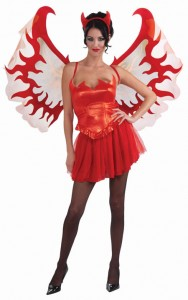 Devil Wings Costume