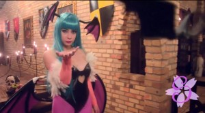 Morrigan Cosplayer LoliSakura