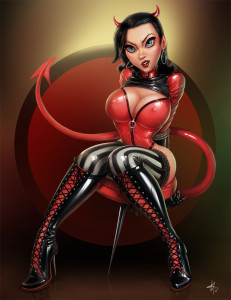 Punaise - Devil by Bolduc