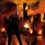 Cut Crimson, Bleed Fire by T.T. Escurel