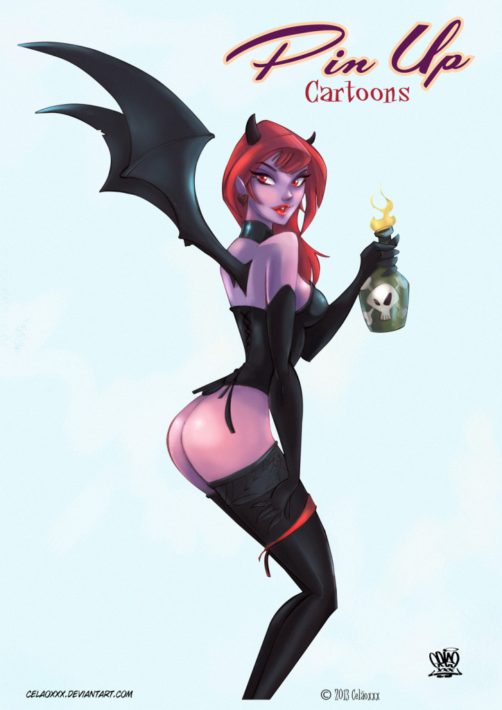 Succubus pin up Cartoons by celaoxxx