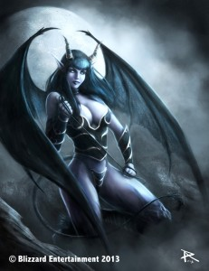 World of Warcraft - Succubus by PierluigiAbbondanza