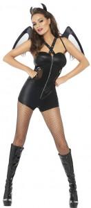 Fever Black Devil Costume