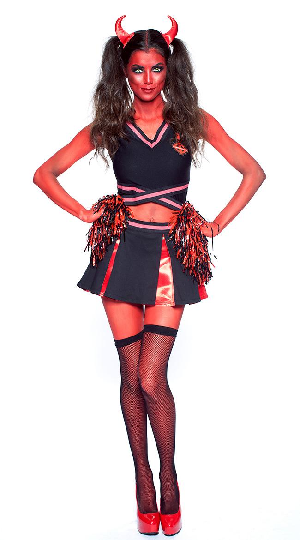 Devils Cheerleader Costume