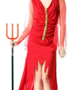 Halloween Red Devil Costume