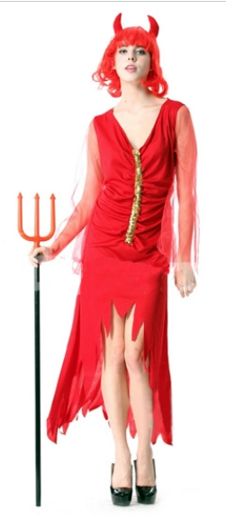 Halloween Red Devil Costume