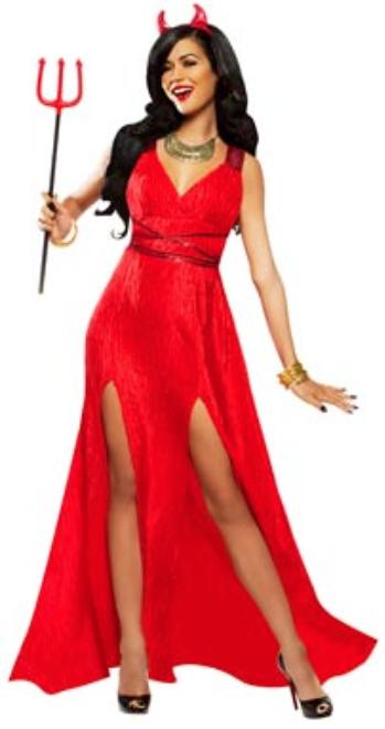 Red Carpet Devil Costume