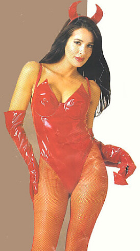 Red Devil Bodysuit Costume