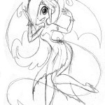 Succubus Sketch by Octopooch