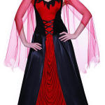 Totally Ghoul Devil Queen Halloween Costume