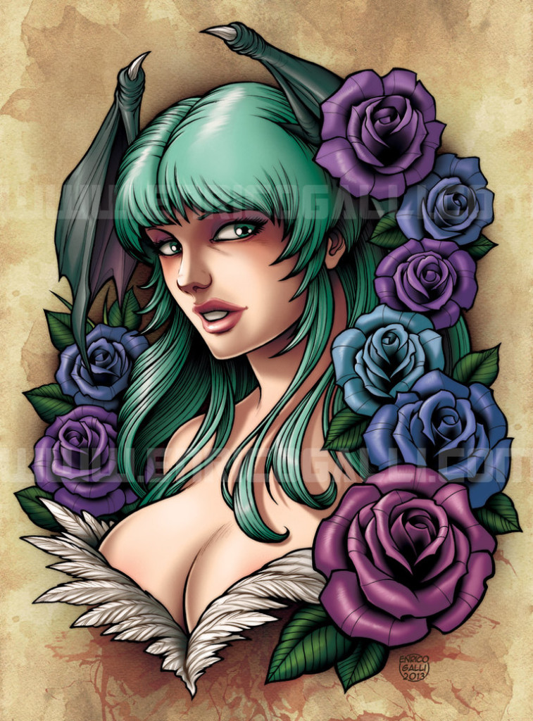 Morrigan by EnricoGalli