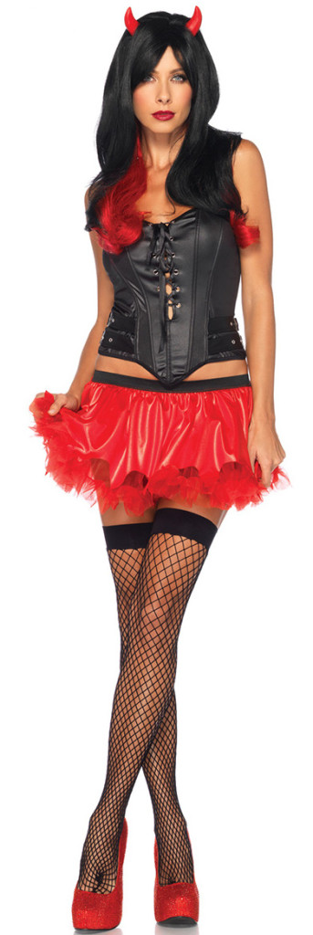 Female Demon Costume Kit