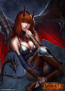 Succubus by NeoArtCorE