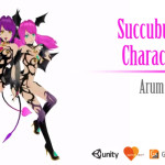 Succubus Twins Character Pack