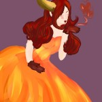 Flame Dress by Nekokitsune