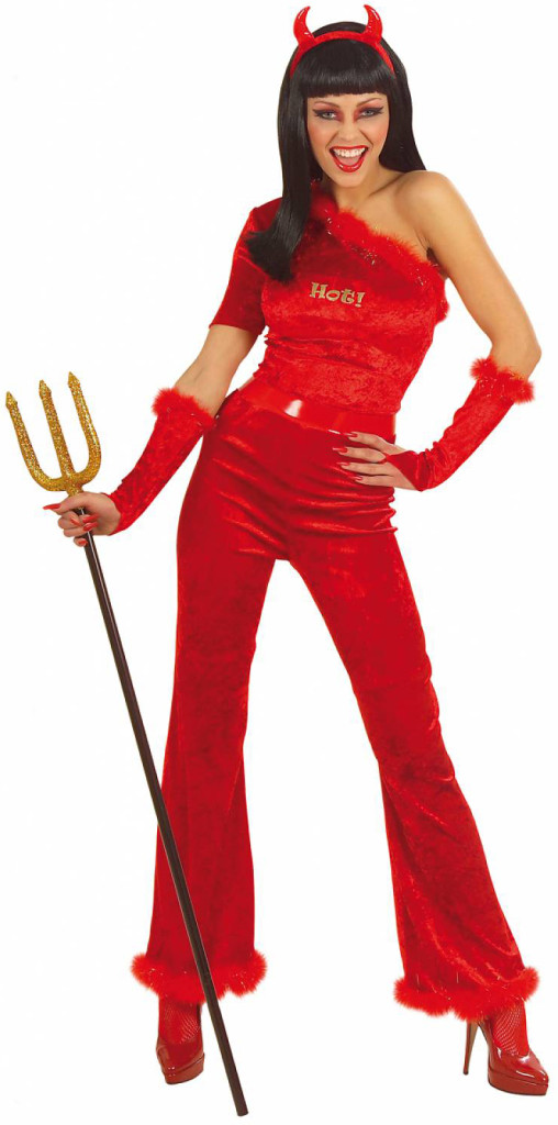 Devil Woman Carnival Costume