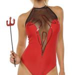Sexy Devil Flames Bodysuit