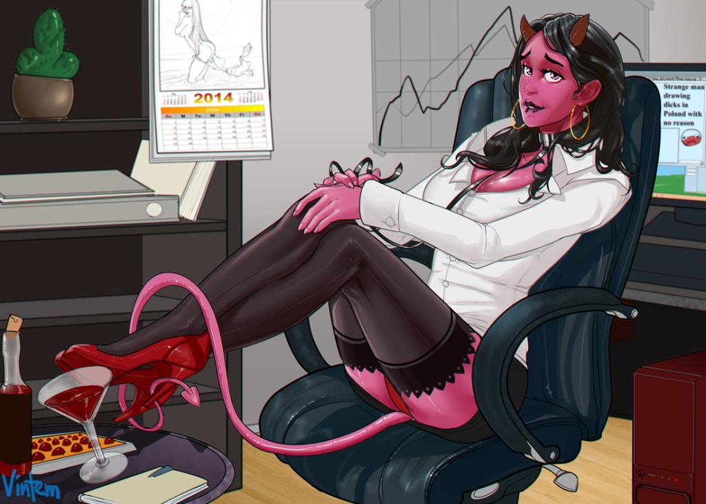 Horned Business by Vintem