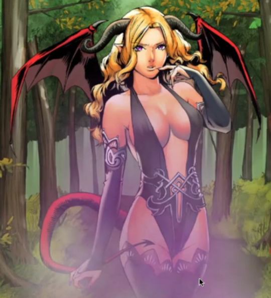 Jul the Succubus of Loren The Amazon Princess