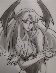Morrigan Aensland by 234BANDICOOT