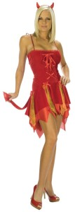 Devil Skirt Costume